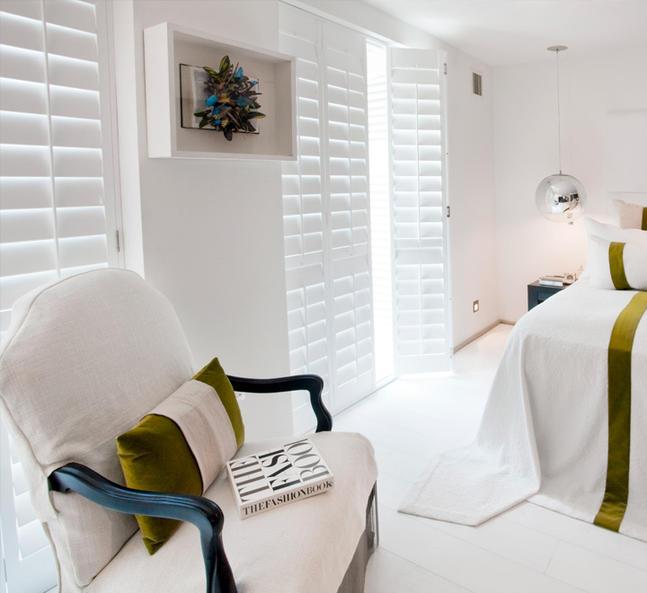 Plantation shutters in Dorset
