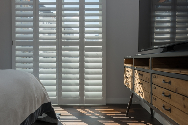 Tracked Shutters -Ideal for large windows